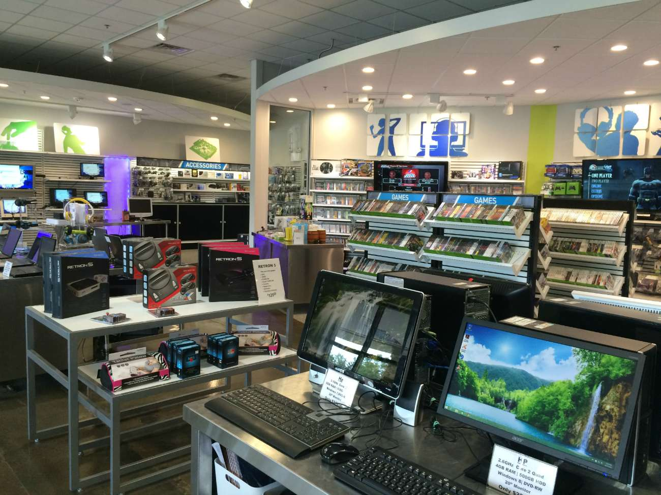 An inside view of The Grid Electronics Store
